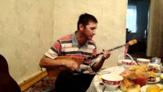 казахская песня на домбре