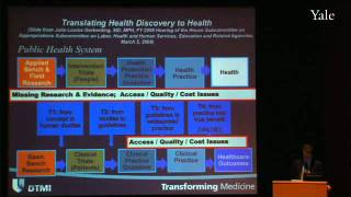Translational Medicine: From Better Ideas to Better Health