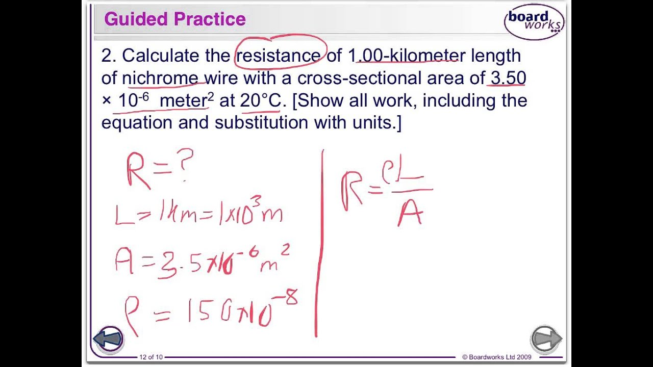 Regents Physics - Electrical Resistance - YouTube