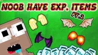 Noob Have Expensive Items pt.2 ( Many Scammers ) | GrowTopia