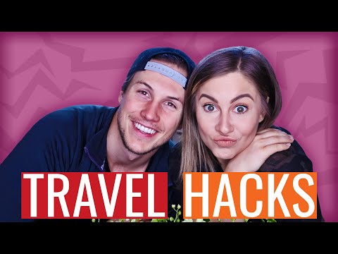 TRAVEL HACKS!!! | Shawn & Andrew