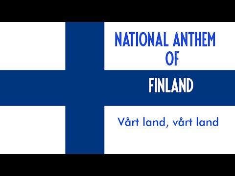 National Anthem of Finland (Swedish Version) - Vårt Land (Our Land)