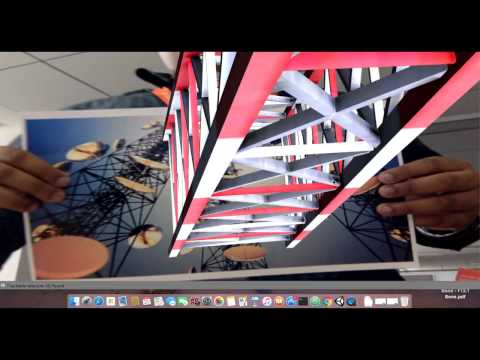 Augmented Reality on 2D object