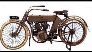 АМЕРИКА #143 мотоцикл Harley Davidson 1909год
