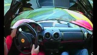 Ferrari P4/5 track test drive, review & interview