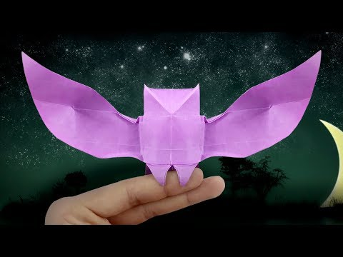 Halloween Origami Owl (first version) - Easy Origami Tutorial ... | 360x480