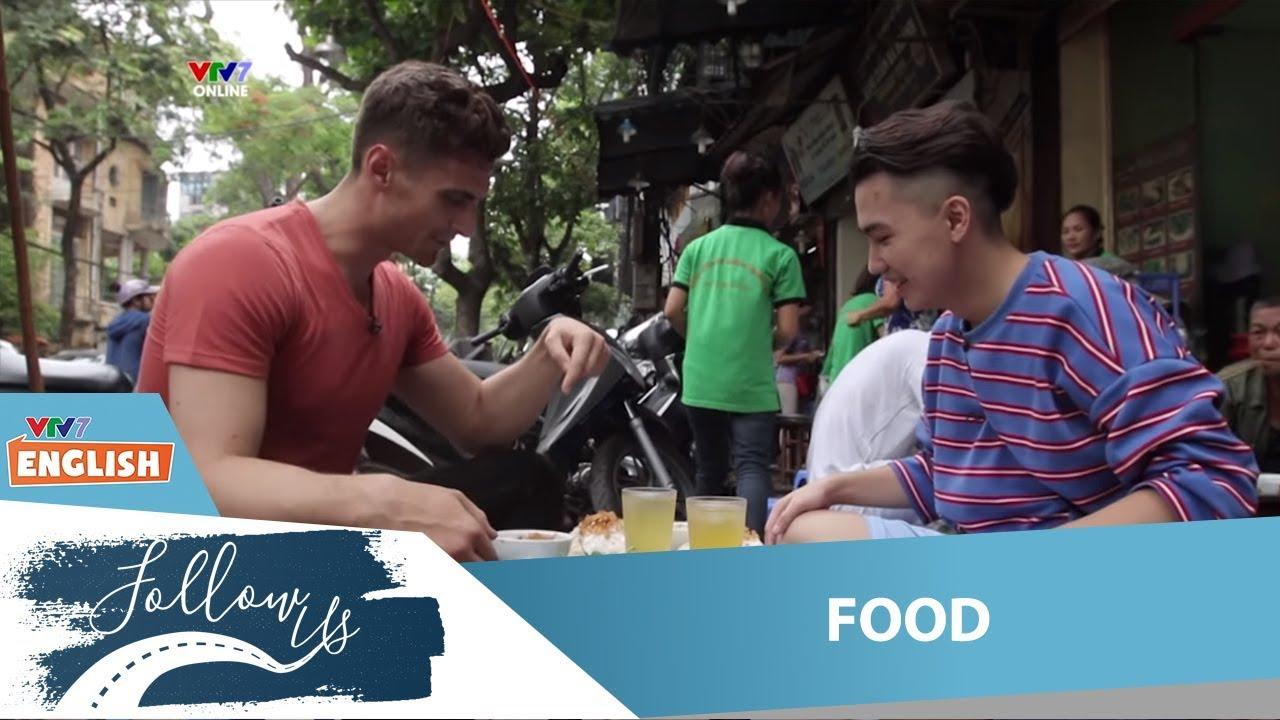 VTV7   Follow us   Food   Ăn bánh cuốn có ngon không nhỉ?