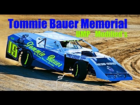 UMP Modifieds Tommie Bauer Memorial - Daily Driver Media