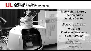 MET Basic Training: Raman & Photoluminescence Spectrometer