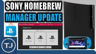 Sony Homebrew Manager Version 1.4 Update! (PS Vita/PS3/PS4)