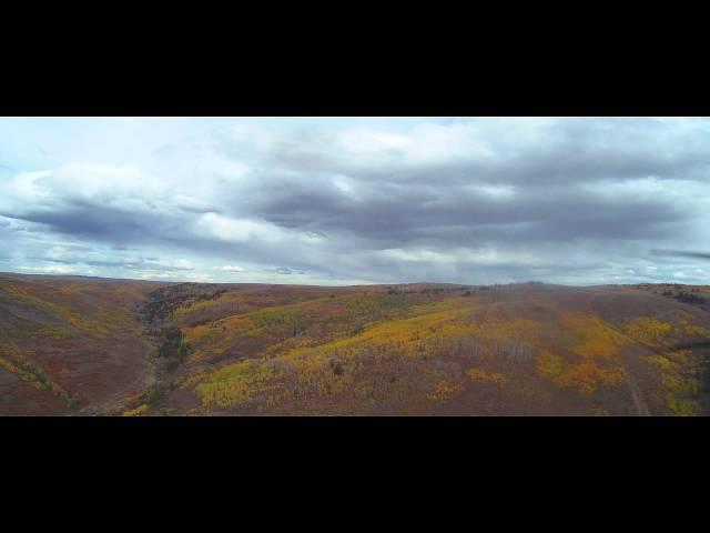 Fall Colors, Guilder Peak and OGD Dirt Strip