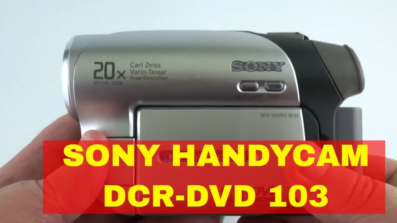 DCR DVD103 NTSC WINDOWS 7 64 DRIVER
