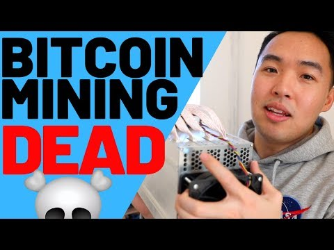 The End of Bitcoin Mining – Crypto Mining is DEAD