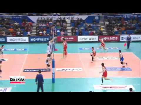 V-League, Samsung Hwajae vs KEPCO
