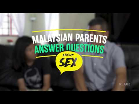 Malaysian Parents Answer Questions About Sex: Qaisya & Dad