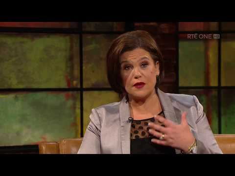 Mary Lou McDonald on her first speech | The Late Late Show | RTÉ One