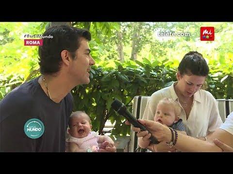 ¡Juan Manuel Urtubey e Isabel Macedo presentan a su hija! - Por el Mundo 2018 thumbnail