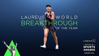 Japan's first Laureus Award winner! Naomi Osaka caps extraordinary rise with Breakthrough award