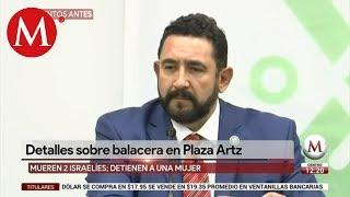 PGJ investiga a mafia israelí y grupos criminales por asesinato en plaza Artz