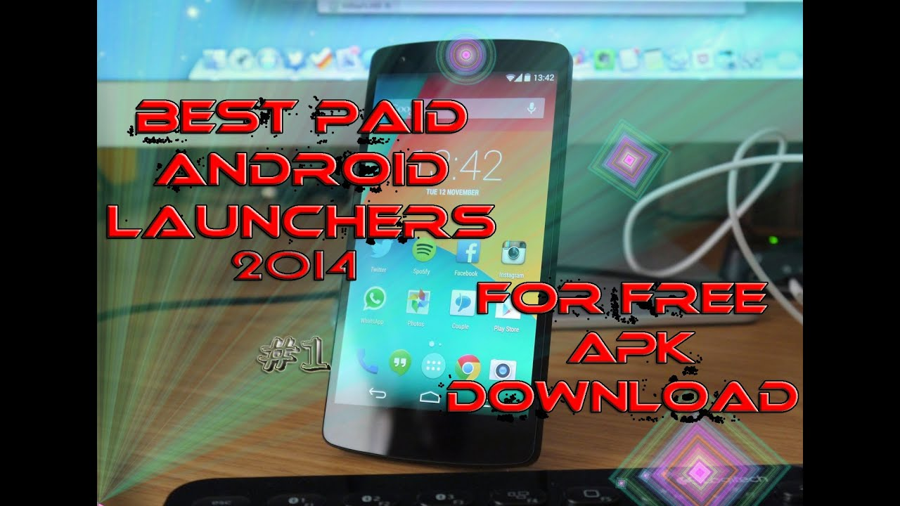 Top 5 best android paid launchers 2017 apk for free links Updated!!!