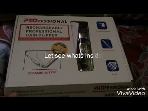 LAZADA Unboxing Rechargeable Hair Clipper For Dogs
