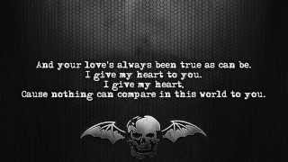 Avenged Sevenfold - Warmness On The Soul [Lyrics on screen] [Full HD]
