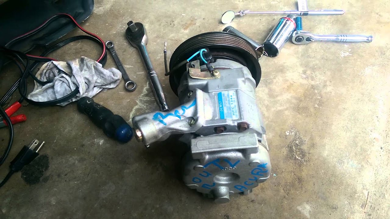 acura tl ac compressor replaced youtube rh youtube com 2001 Acura CL 3.2 Problems 2001 Acura CL Interior