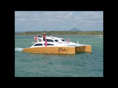 Our  build SV Khaleesi 40ft Catamaran