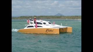 Our  build SV Khaleesi 40ft Catamaran