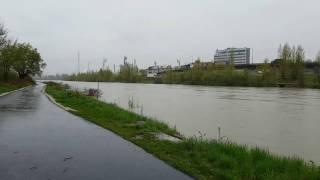 SHMÚ vyhlásil III. stupeň výstrahy pred povodňami v Žiline