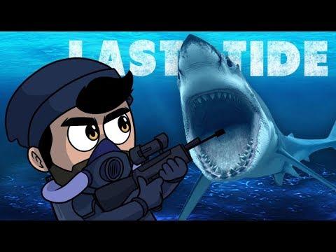 UN FORTNITE BAJO EL AGUA   Last Tide: Battle Royale