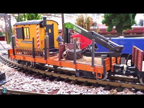 LGB Garden Railway G Scale Train System – Lipper Modellbau Tage