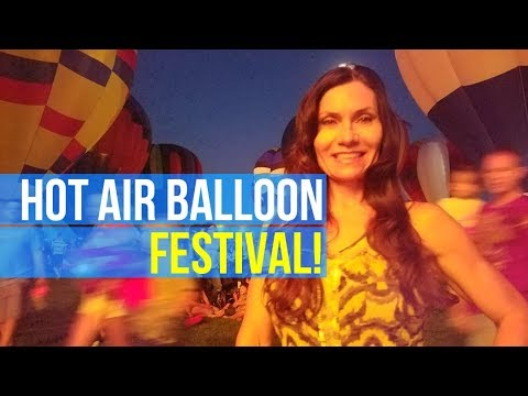 Koenig Family Vlog 4: Hot Air Balloon Labor Day Liftoff!! Weekend Fun with Colorado Vloggers