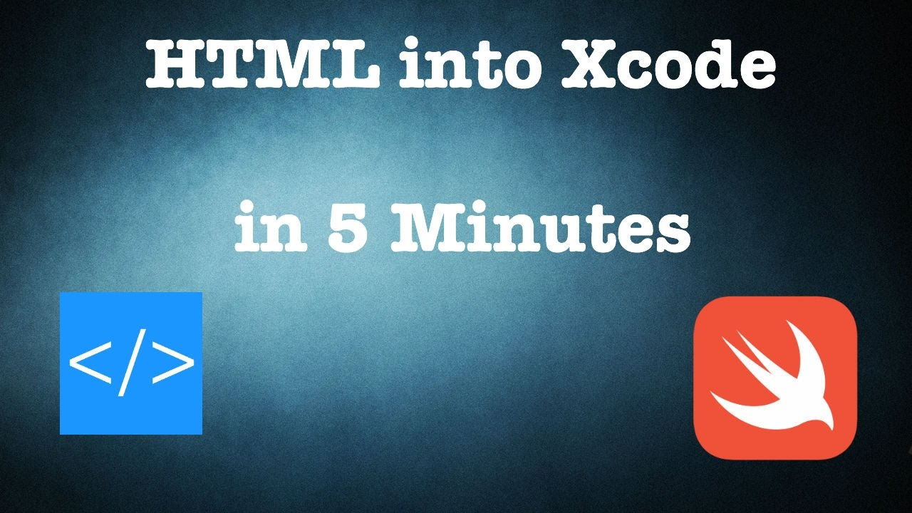Getting html content into xcode in 5 minutes swift 3