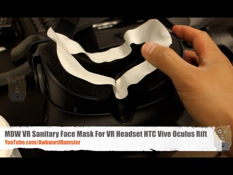 MDW VR Sanitary Face Mask For VR Headset HTC Vive Oculus Rift Review