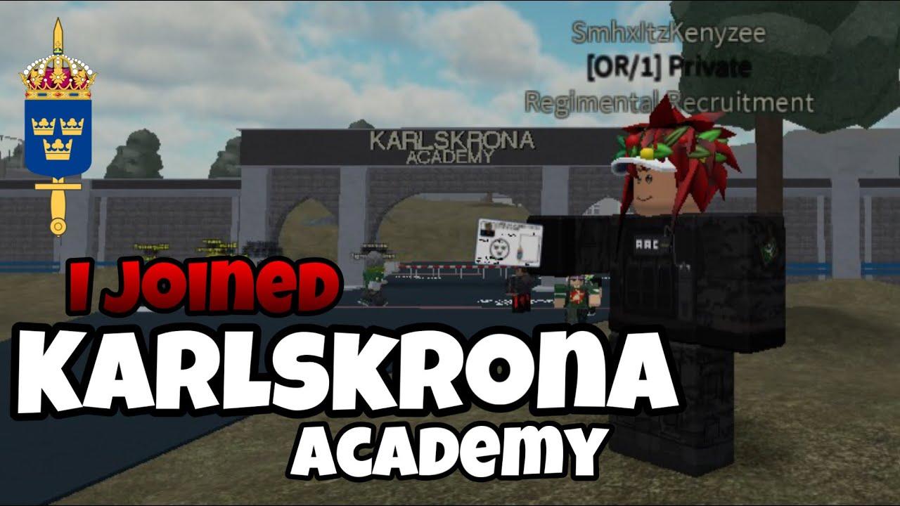 I Joined Saf Swedish Armed Forces Karlskrona Academy