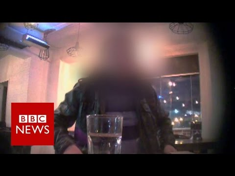 Undercover video of human organ traders - BBC News
