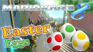 Mario Kart 8 - Easter Eggs and Secrets!