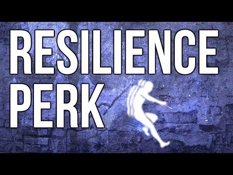 Ghosts In Depth - Resilience Perk (Doesn't Work Properly?)