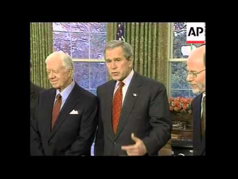 President meets American Nobel prizes winners