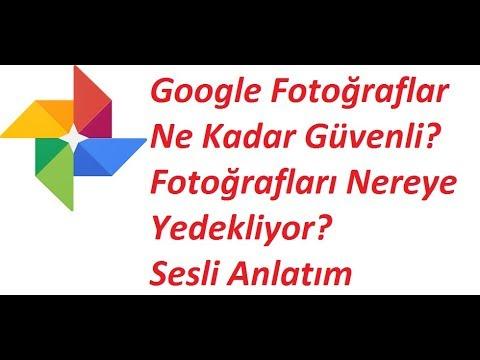 Google Fotoğraf Yedekleme Nasıl Yapılır? Tüm Detaylarıyla Sesli Anlatım