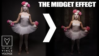 THE MIDGET EFFECT - 3 MINUTES - how it`s done (photoshop)