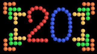 Color Ball Counting - 1 to 20 - The Kids