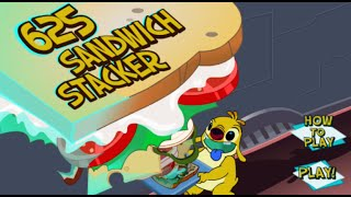Grandeur Games: Lilo & Stitch Sandwich Stacker