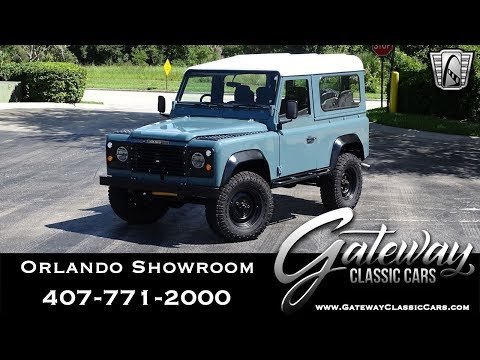 1985 Land Rover Defender 90 Gateway Classic Cars Orlando 1486