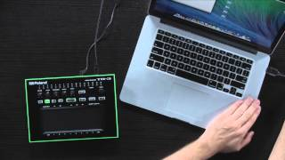 Roland Aira - How to update TB-3 Firmware