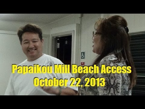 Papaikou Mill Beach Access Update with Lincoln and Valerie