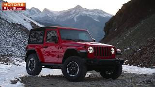 All-New 2018 Jeep Wrangler Rubicon JL 3 doors