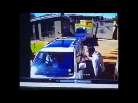 S18E71 Lady Drives Over Carjackers Car With Her Jeep
