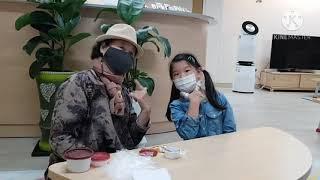 돌봄센타  봉숭아 물들이기 영상